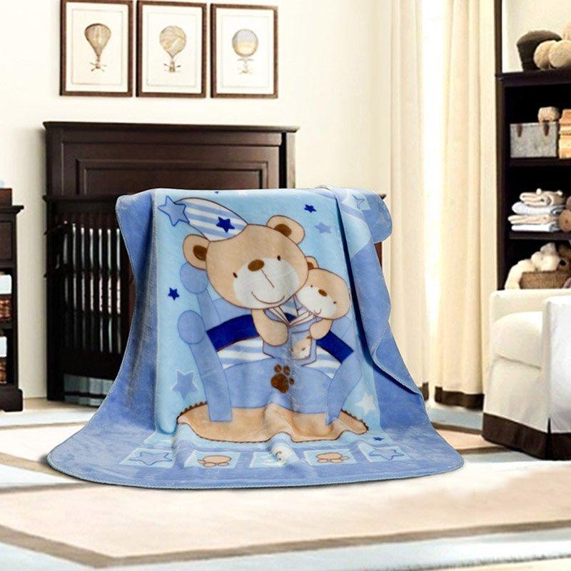 二代宝贝童毯(蓝.粉)